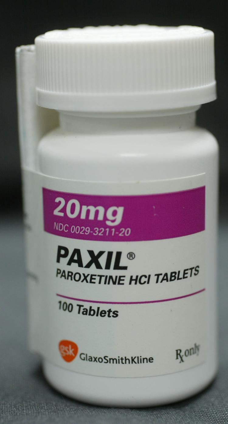 Paxil Bottle Large